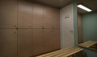 Bodywise studio  – Lockers' room